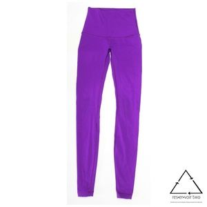 Lululemon High Times Leggings Tender Violet